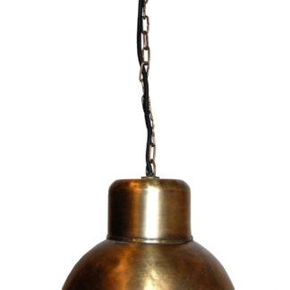 TRADEMARK LIVING Loftlampe med enkelt udtryk - messing