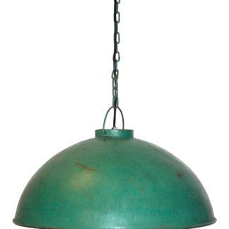 TRADEMARK LIVING Loftpendel i fabriksstil - lysegrøn