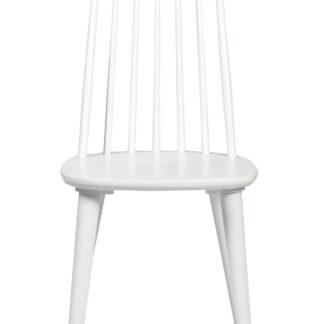 Lotta spisebordsstol - hvid træ