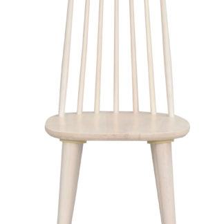 Lotta spisebordsstol - hvidolieret træ