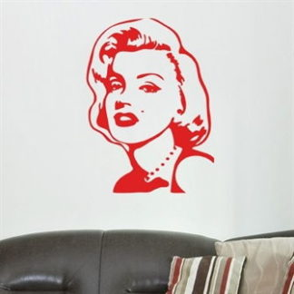 Wallsticker Marilyn Monroe