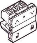 LK IHC® Wireless jalousi afbryder m/lås koksgrå