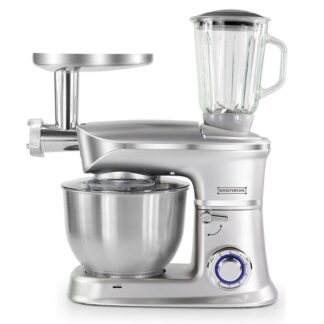 Køkkenmaskine 3-i-1 med blender, kødhakker & røremaskine