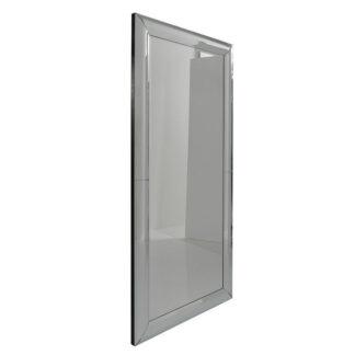 KARE DESIGN Bounce vægspejl - glas/sølv spejlglas/MDF, rektangulær (207x99)
