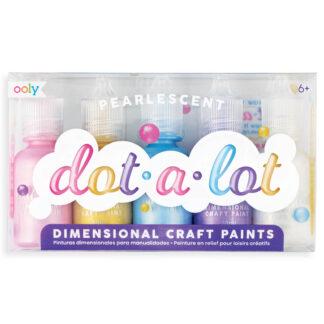 Ooly Dot a Lot 3D maling perlemor
