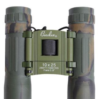 Rothco Kompakt Kikkert 10 X 25mm (Woodland, One Size)