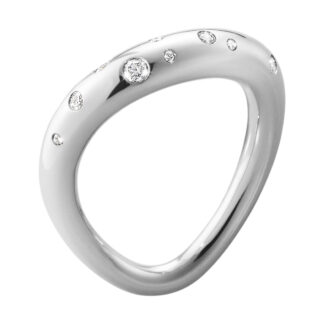 Georg Jensen OFFSPRING ring - 10013251 Sølv / 0.14 ct 5
