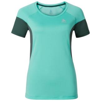Odlo dame T-shirt - VERSILIA - Cockatoo - Str. XS