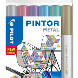 Marker Pintor Fine Metal Mix 1,0ass (6) - PLT517443