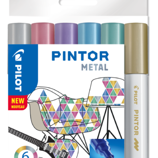 Marker Pintor Medium Metal Mix 1,4 ass (6) - PLT517450