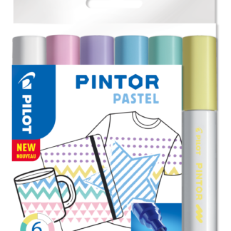 Marker Pintor Medium Pastel Mix 1,4 ass (6) - PLT517474