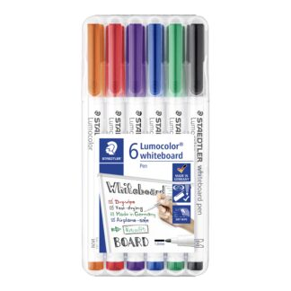 WB Marker Lumocolor rund 1mm ass (6) - STA301WP6