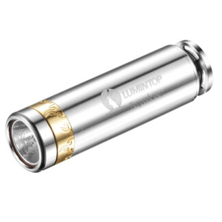 LED Lommelygte, 520LM, Rustfritstål, Lumintop Torpedo 007
