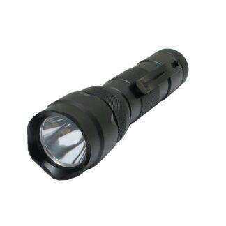 LED Lommelygte, 700LM, Sort ALU, XL502B