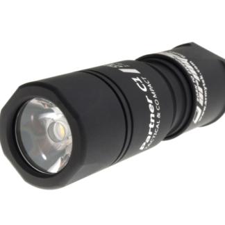 LED Lommelygte, ALU, 650LM, Armytek Partner C1 Silver / XP-L v3