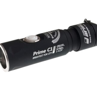 LED Lommelygte, Alu, 650LM, Armytek Prime C1 Pro Silver / XP-L