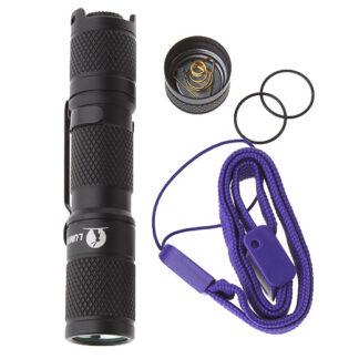 LED Lommelygte, Sort Alu, Lumintop Tool AA