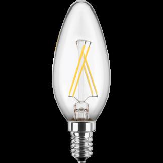 LED Pære, E14, 4W, Varmhvid, Blulaxa