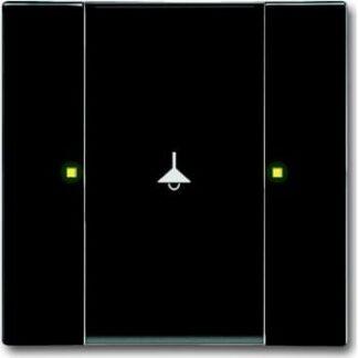 Knx kontakt 1/2-tryk antracit