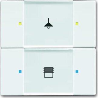 Knx kontakt 2/4-tryk hvid