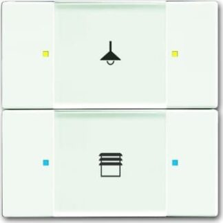 Knx kontakt 2/4-tryk mat hvid