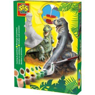 SES Creative støb og mal - Triceratops