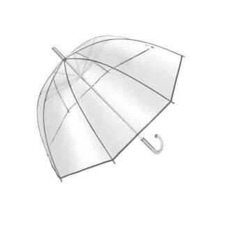 Transparent paraply til fastelavn udklædning