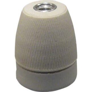 Andet Porcelænsfatning e27 10mm ru