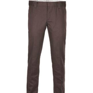 DICKIES 872 Slim Fit Work Pant (Chokolade brun, W31 / L34)