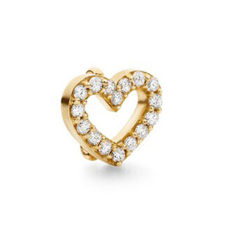 Ole Lynggaard Sweetspot charm hjerte lille - A2704-402