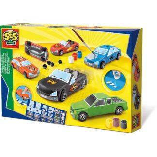 SES Creative støb og mal - biler
