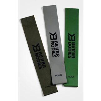 Better Bodies Resistance Mini Band 3-pack