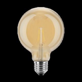 LED Pære, E27, 2W, Varmhvid, 125mm, Blulaxa