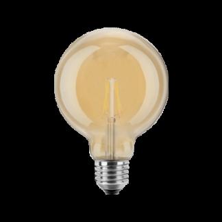 LED Pære, E27, 4W, Varmhvid, 95mm, Blulaxa