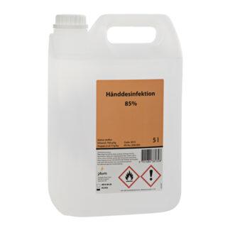 Plum Hånddesinfektion 85% flydende, 5 L