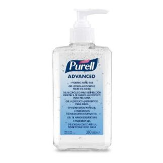 Purell Hygenic Hand Rub, håndsprit gel i pumpeflaske, 300 ml