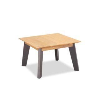 Sentosa hjørnebord, kvadratisk - natur egetræ (70x70)