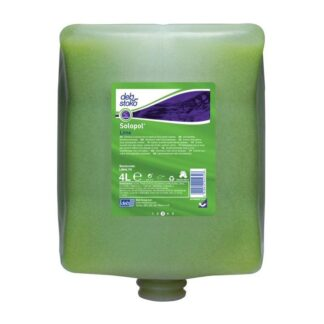 Deb Stoko, Solopol Lime håndrens, rensestyrke 3, m. parfume og farve, 4 L