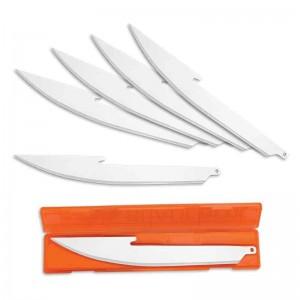 Knivblade sæt til Outdoor Edge Razor knive 12,7 cm - 6 stk.