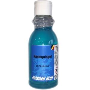 Morgan Blue Håndsprit Gel 69,7% Alkohol - 215 ml