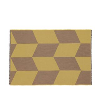 Sway Throw Mustard - Muuto