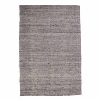 VENTURE DESIGN Devi gulvtæppe - grafitgrå polyester og bomuld (200x300)