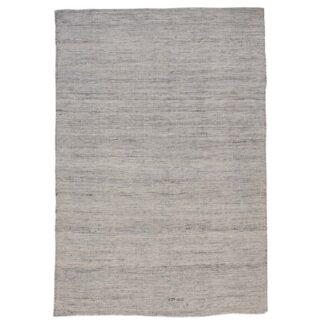 VENTURE DESIGN Devi gulvtæppe - sølv polyester og bomuld (200x300)