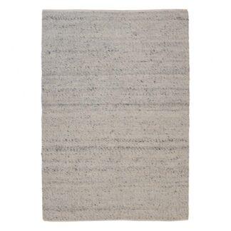 VENTURE DESIGN Ganga gulvtæppe - elfenben uld og bomuld (170x240)