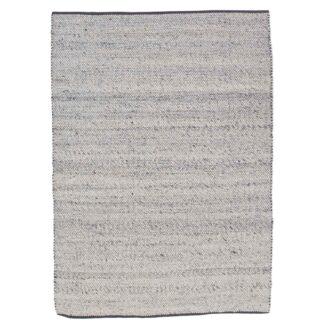 VENTURE DESIGN Ganga gulvtæppe - sølv uld og bomuld (170x240)