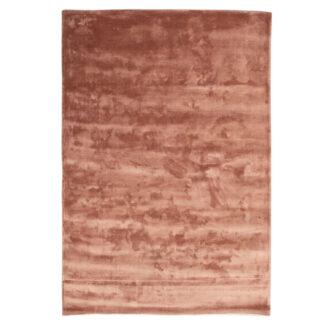 VENTURE DESIGN Indra gulvtæppe - rosa viskose og bomuld (200x300)