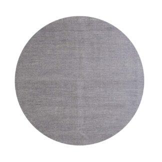 VENTURE DESIGN Jaipur gulvtæppe - lysegrå uld og bomuld (Ø200)