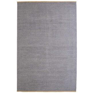 VENTURE DESIGN Jaipur gulvtæppe - lysegrå uld og bomuld (170x240)