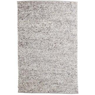 VENTURE DESIGN Jajru gulvtæppe - lysegrå uld og viskose (200x300)