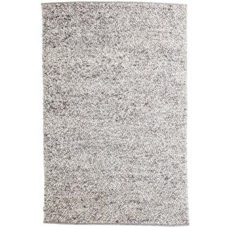 VENTURE DESIGN Jajru gulvtæppe - lysegrå uld og viskose (250x350)